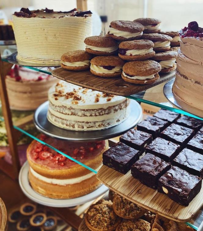 Various Cakes Counter Beatrix